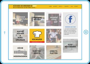 Küchen-Schreiner-Meier in neuem Design